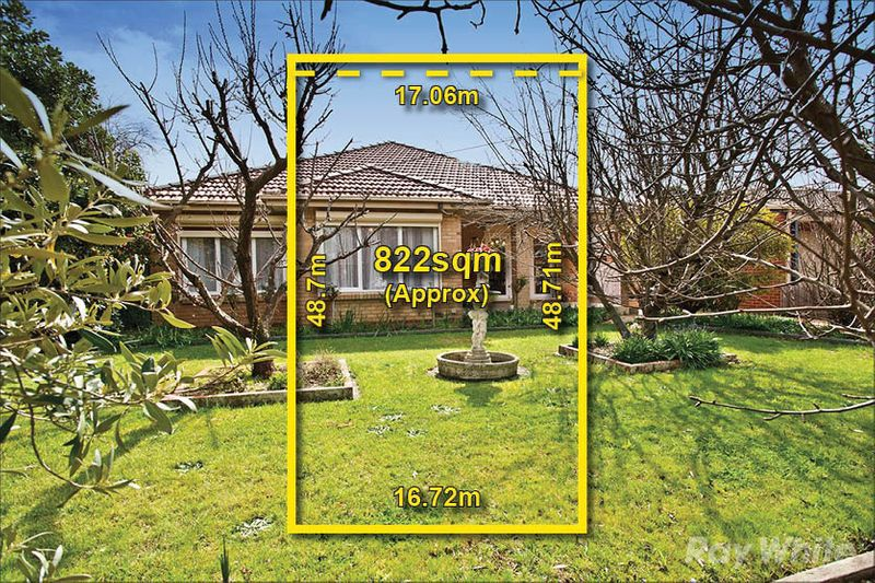 ENTICING FAMILY DIMENSIONS ON 822SQM APPROX - Glen Waverley