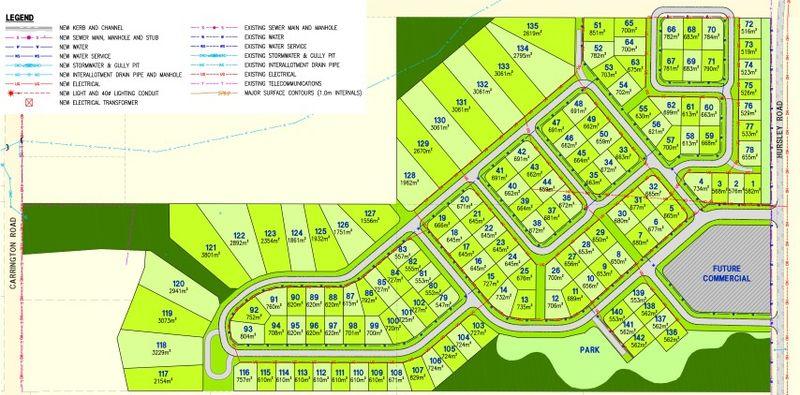 Sovereign Hill Estate - 142 Individual Lots Residential Subdivision - Torrington