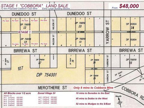 Dunedoo, Lots 1-9 Sect 12, Cobbora Village