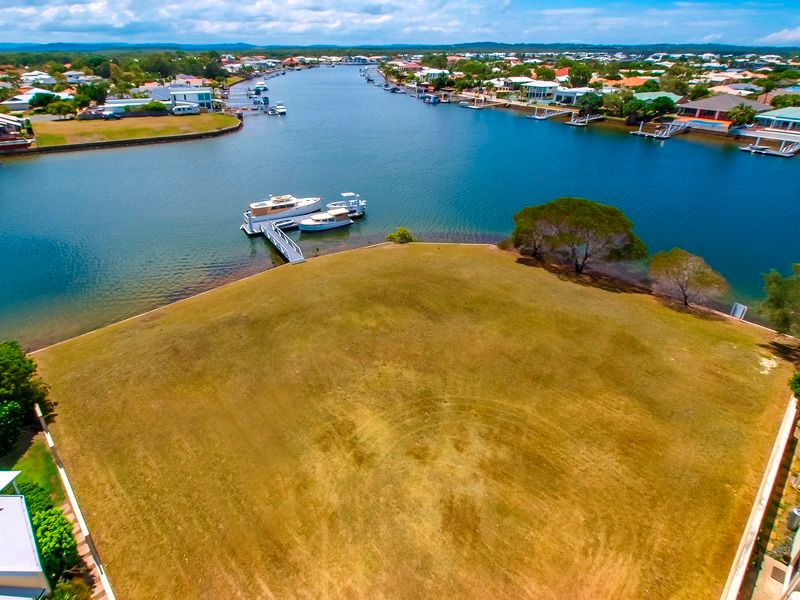 The Best Deep Water Land at Pelican - 71m Canal Frontage - Pelican Waters