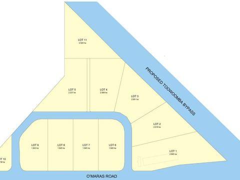 Wellcamp, - O'Mara Road Subdivision