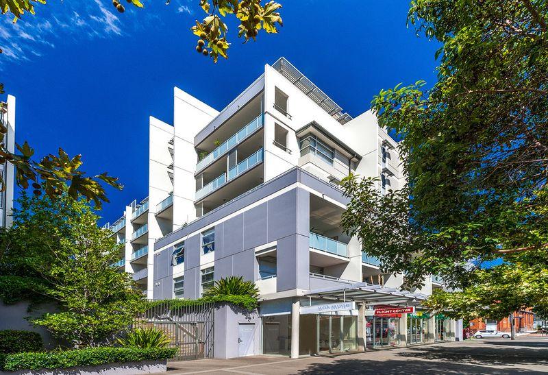 North Facing Dual Level Cosmopolitan Apartment - Rosebery